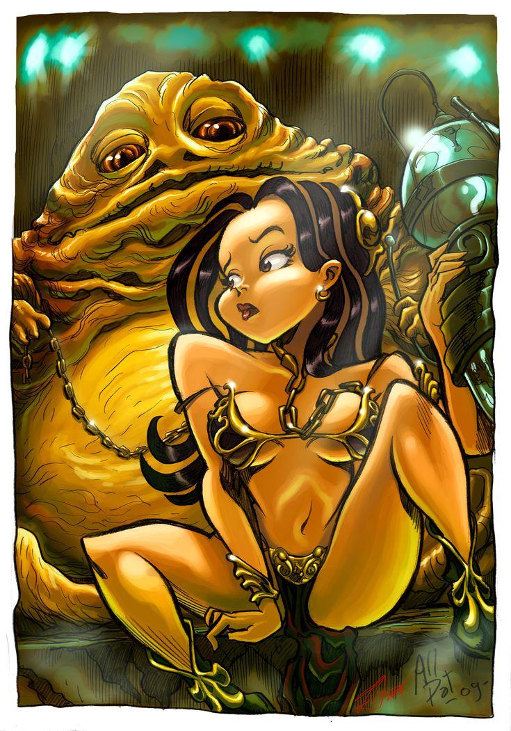 114 Best Slave Leia Artwork Images On Pinterest  Star -5676