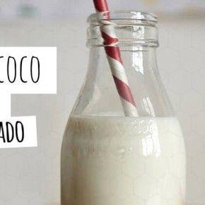 Como hacer leche de coco con coco rallado