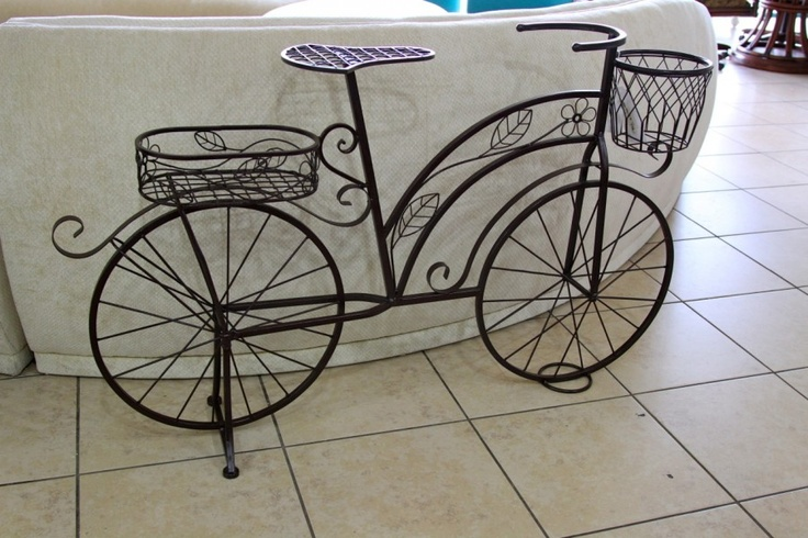 Bicycle plant stand colleen 39 s classic consignment las vegas nv bike love pinterest - Bicycle planter stand ...