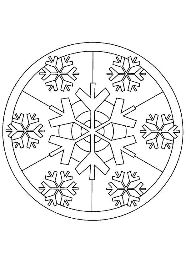 Mandala Kleurplaten Mandala Spiritual Colouring Pinterest