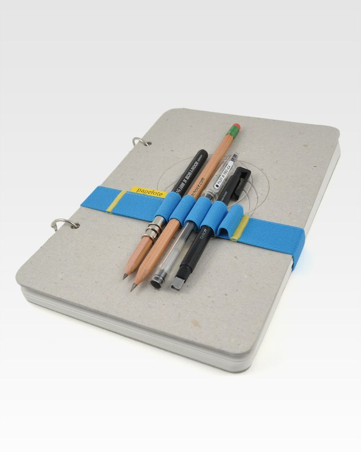 papelote skika large sketchbook w/ elastic band #notebooks #shopping $31