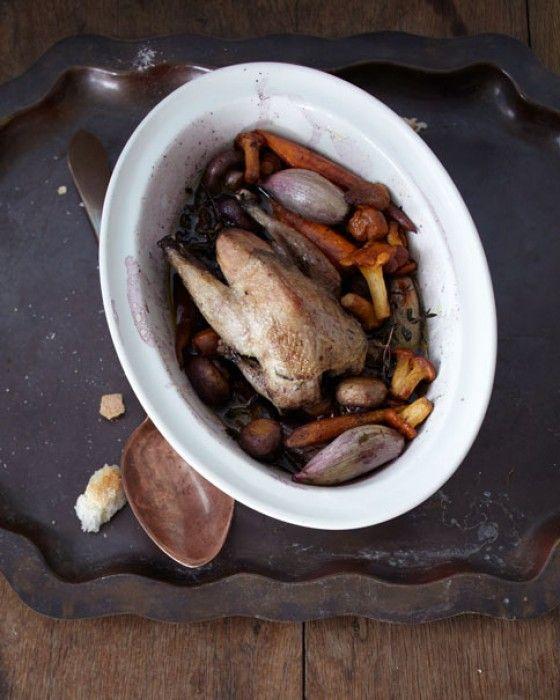 rebhuhn mit pilzen rezept low carb rezepte pinterest pilze gefl gel und low carb rezepte. Black Bedroom Furniture Sets. Home Design Ideas