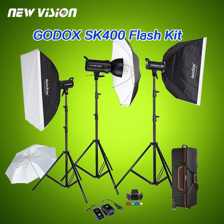 675.30$  Buy here - http://aliuom.shopchina.info/1/go.php?t=32362566736 - Free DHL Godox SK400 3 x 400W Compact Photo Studio Flash Lighting set Digital Photography Strobe Light & Softbox Portrait Kit 675.30$ #buymethat