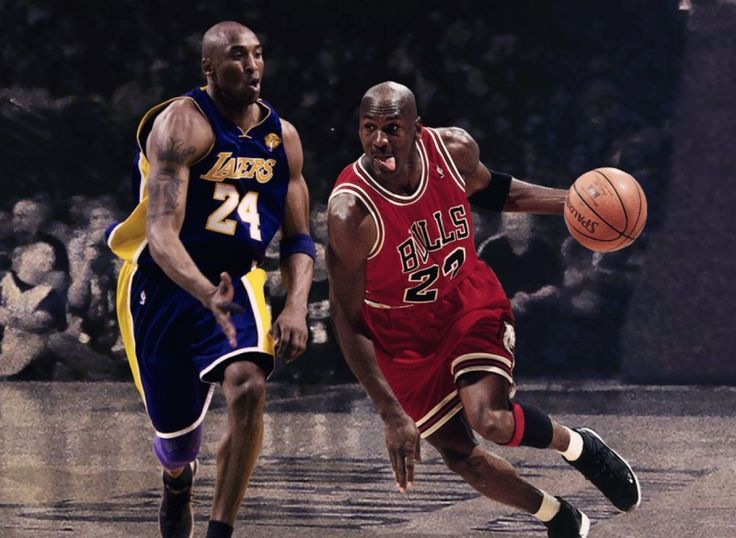 To Slither or to Swoosh.... Michael Jordan or Kobe Bryant - Basketball Bicker – With number 24(formally number 8) of the Los Angeles Lakers recently passing number 23(no reference needed) there are some people out there saying that Kobe Bryant might actually be the better basketball player.
