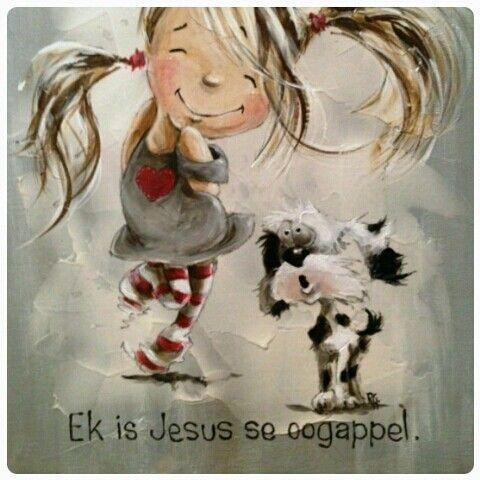 Ek is Jesus se oogappel