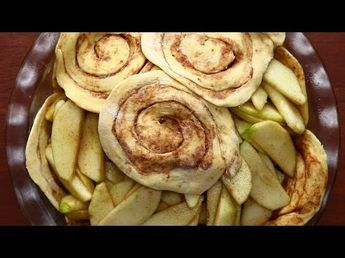 Try This Amazing Cinnamon Roll Apple Pie - Afternoon Baking With Grandma