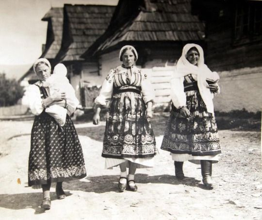 Liptovská Osada village, Liptov region, Central Slovakia.