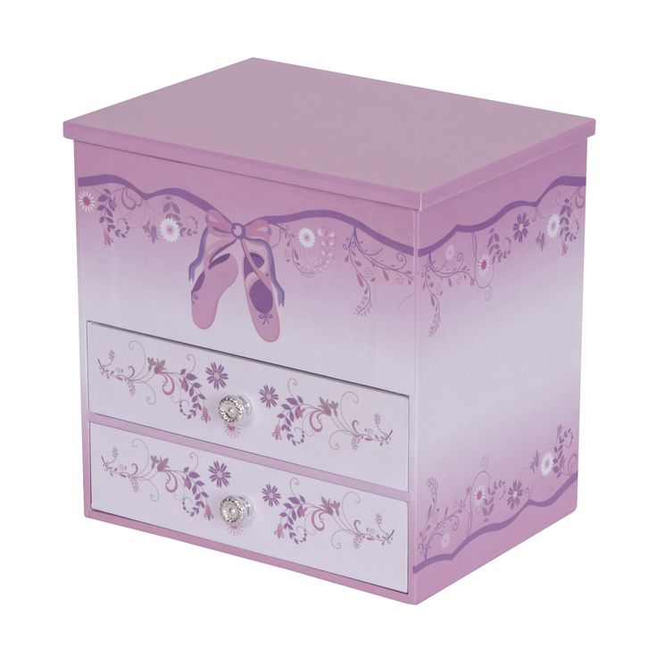 Poppy Girl's Musical Ballerina Jewelry Box