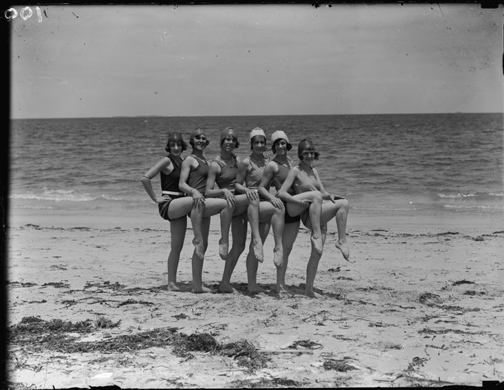 041368PD: Lillian Kelly (3rd from right) with Amy and Sylvia on either side of her, from the Kelly School of Dancing, ca.1929 https://encore.slwa.wa.gov.au/iii/encore/record/C__Rb2352955