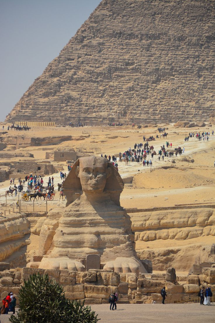 Sphinx and Second Pyramid