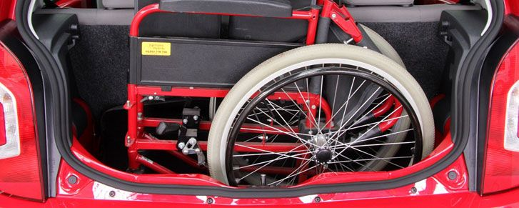 Rica has a guide about equipment tot help get a wheelchair into a car: hoists, lifts and stowage systems.