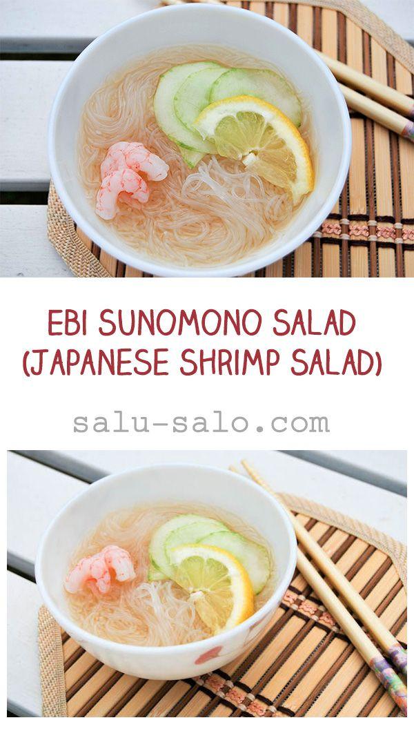 Do without shrimp.  Ebi Sunomono Salad (Japanese Shrimp Salad)