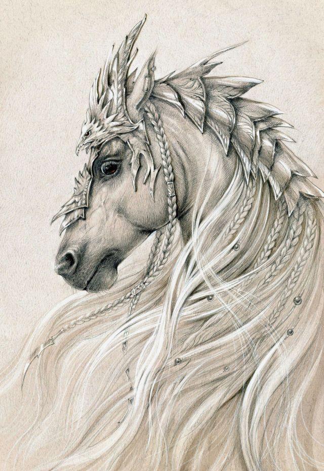 Elven horse 2 by Anwaraidd on deviantART
