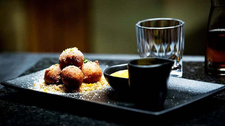 Ricotta Donuts with Curd and Custard