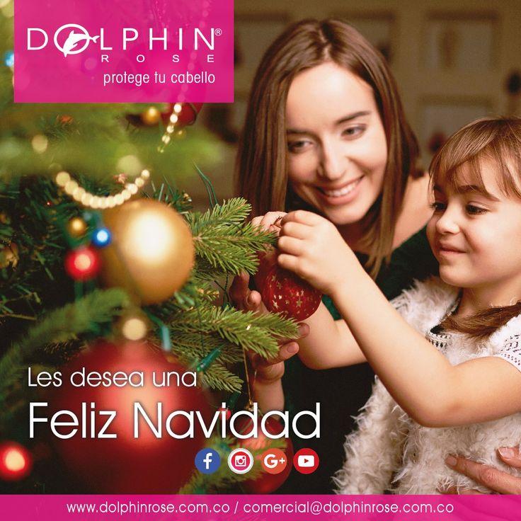 Dolphin Rose les desea una ¡Feliz #Navidad! lleno de #amor y unión #familiar. Productos profesionales que cuidan tu #cabello. Contáctenos: www.dolphinrose.com.co Celular: (310) 503 1213 (Whatsapp) comercial@dolphinrose.com.co