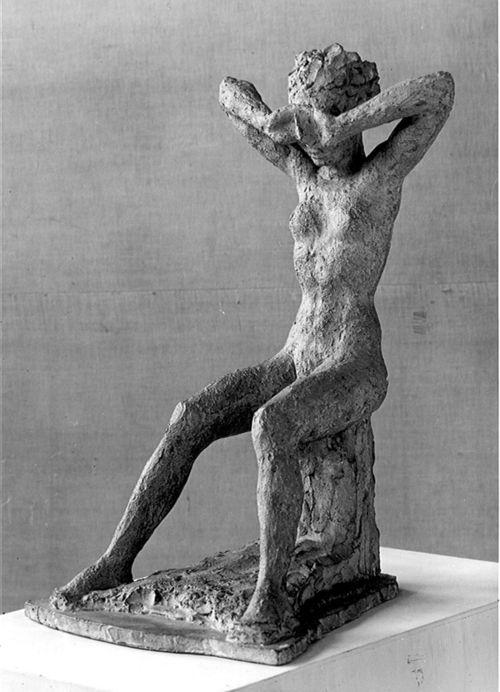 Hermann Haller (1880-1950) - Weinendes Mädchen/ Weinende 1928