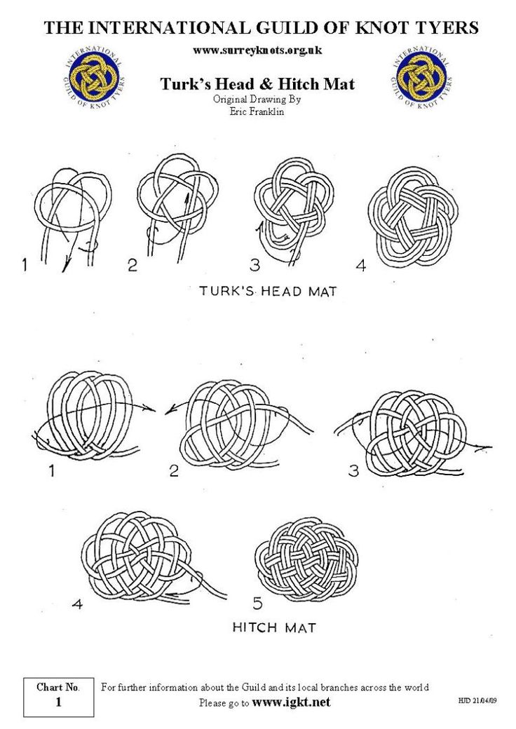 17 best images about turk u0026 39 s head knot on pinterest