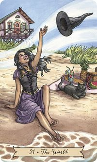 Everyday Witch Tarot The World