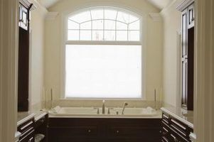 Bathtub dimensions are sometimes determined by the space they are in.