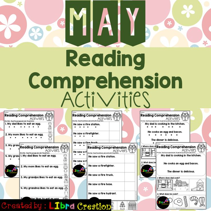 "Each monthly set comes in three formats. 5 pages of Reading Fluency, 5 pages of Reading fluency check cut and paste, and 10 pages of Reading Comprehension will suit the needs of your students. I have provided a copy of all those 20 pages without the ""dots"" for tracking. These activities work well for a small group practice, fluency practice, class discussions, homework, and for assessment use"