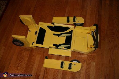 Transforming Bumblebee Transformer - Halloween Costume Contest via @costume_works