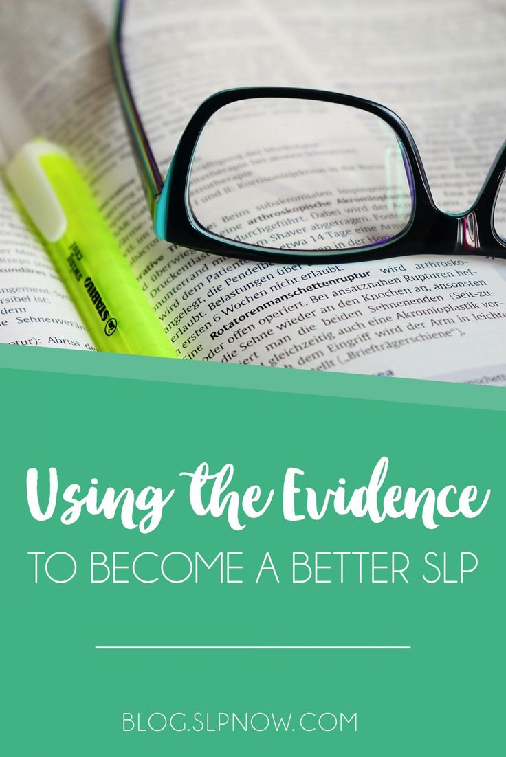 """Struggling to keep up with it all? Read about this SLP's """"real life"""" approach to evidence-based practice."""