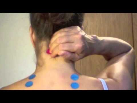 Got neck pain?  Give Acupressure a try!  Stress Relief Acupressure Points for Shoulder & Neck Tension