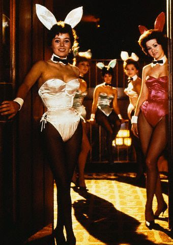 IMAGE UPDATE: Bunnies from The Gaslight Club's rival, Hugh Hefner's Playboy Club which was located 4 blocks away [Need to acquire from Corbis-U1512243: £161 FOR 5 YEARS]