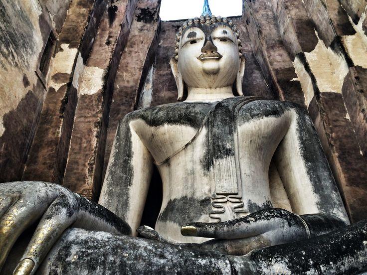 Wat Si Chum, Sukhotai #Thailandia