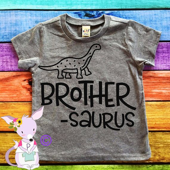 Hey, I found this really awesome Etsy listing at https://www.etsy.com/listing/534927361/big-brother-shirt-dinosaur-big-brother