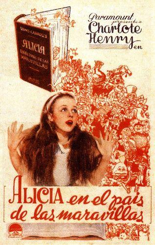 Charlotte Henry in Alice in Wonderland (Alicia en el pais de las maravillas), 1933.