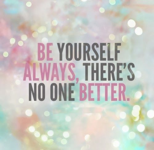 Be Yourself Quotes Cute: 17 Best Cute Inspirational Quotes On Pinterest
