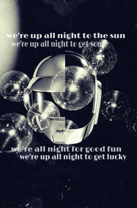 Best Daft Punk Images On Pinterest Music Books And Breads - Songs like get lucky daft punk popular