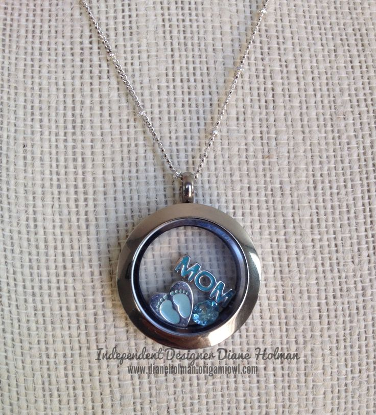 Origami Owl Living Locket for a New Mother - Shower or Push Gift   Custom for baby boy or girl - $43  Affordable & thoughtful jewelry!