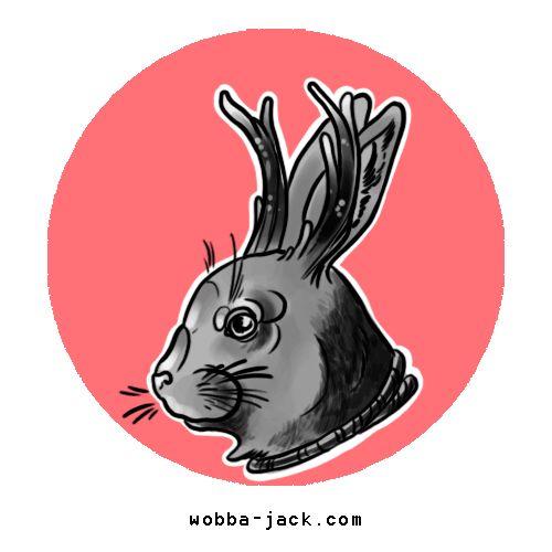 Significato Tatuaggio Lepre Coniglio Jackalope Wobba-Jack Tattoo Art