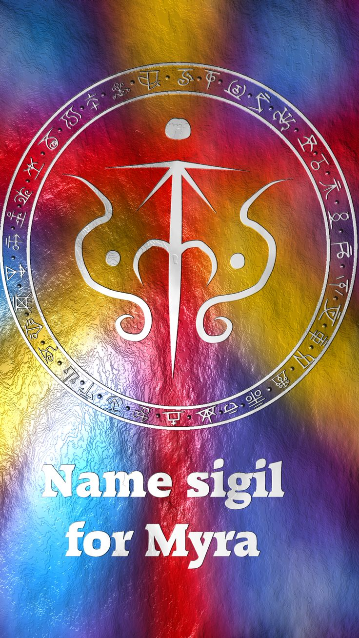 Name sigil for MyraRequested by @the-witch-named-mavis Here you go my friend. Thank you for the request, I appreciate it. Sigil requests are open. For more of my sigils go...