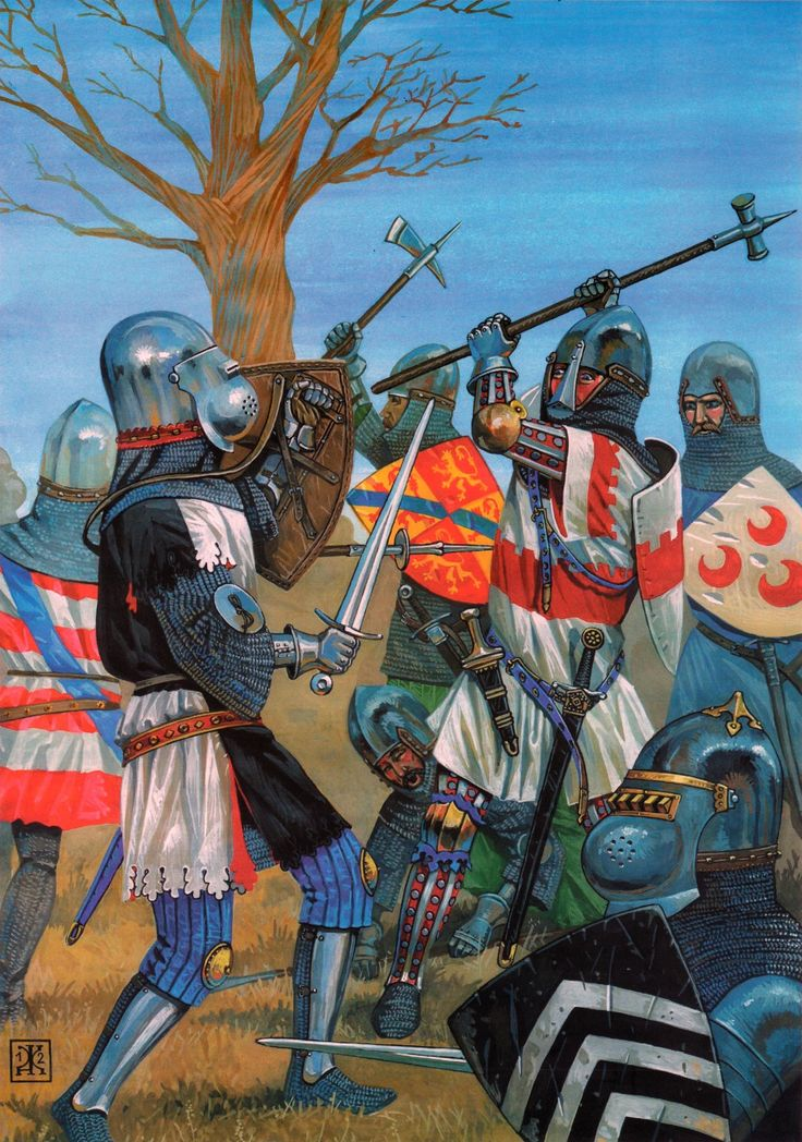 chivalry in the hundred yearsí war essay Chivalric customs arose from the medieval knight's code of conduct, and were   wearyand still armed war skillful, war powerful your answer chivalry.