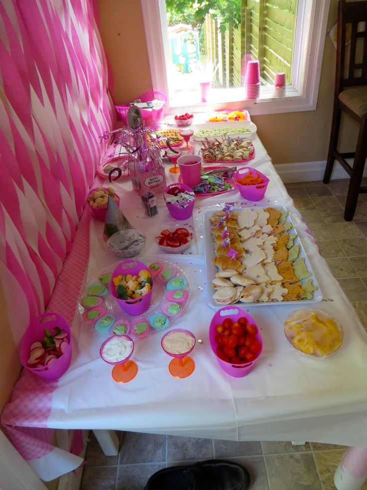 Kids Party Meal Ideas (Buffet Style)