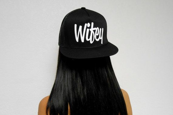 Hey, I found this really awesome Etsy listing at https://www.etsy.com/listing/202909570/wifey-hat-bride-hat-newlywed-hat