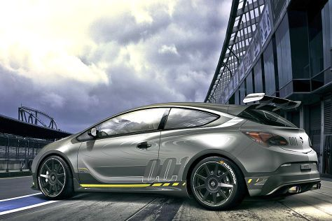 Opel Astra OPC Extreme: Supersport Concept
