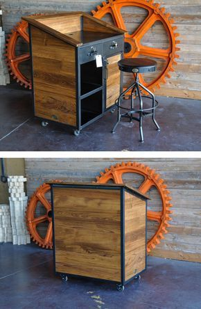 10 Cheap And Easy Ideas How To Make Industrial Furniture furniture