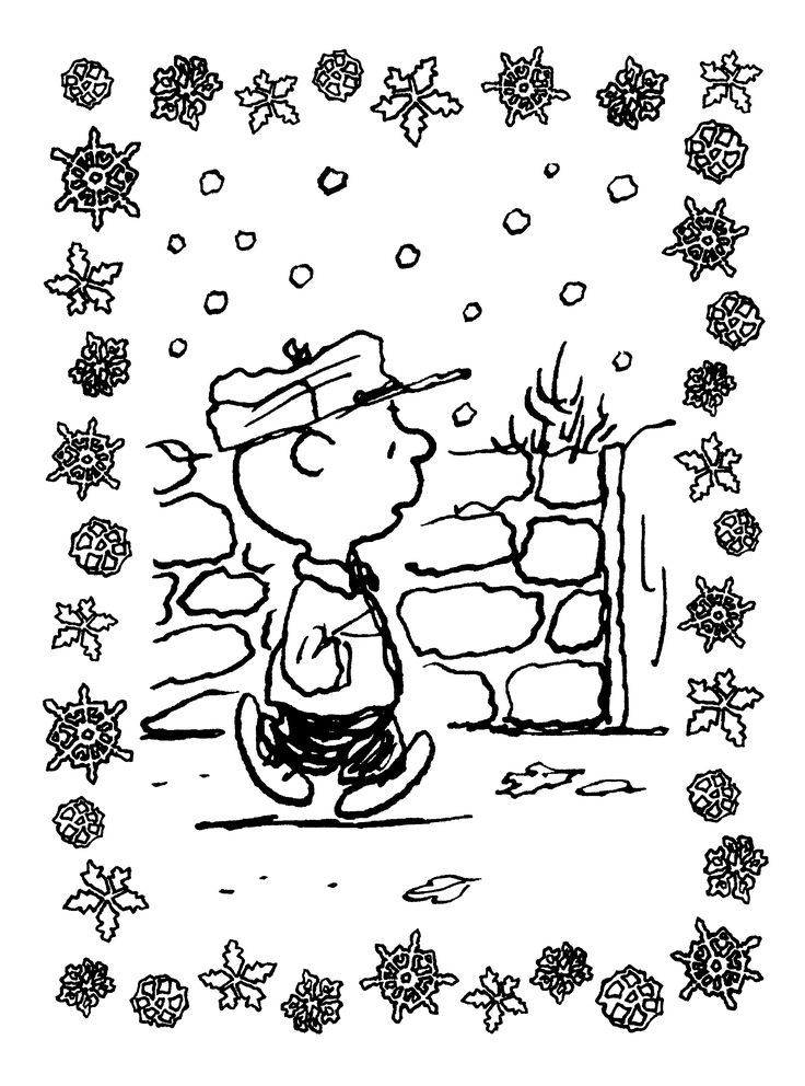 Free Printable Charlie Brown Christmas Coloring Pages For ...