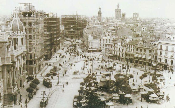 Plaza del Ayuntamiento en 1929