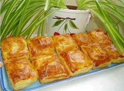 recette - petits feuilletés de kiri