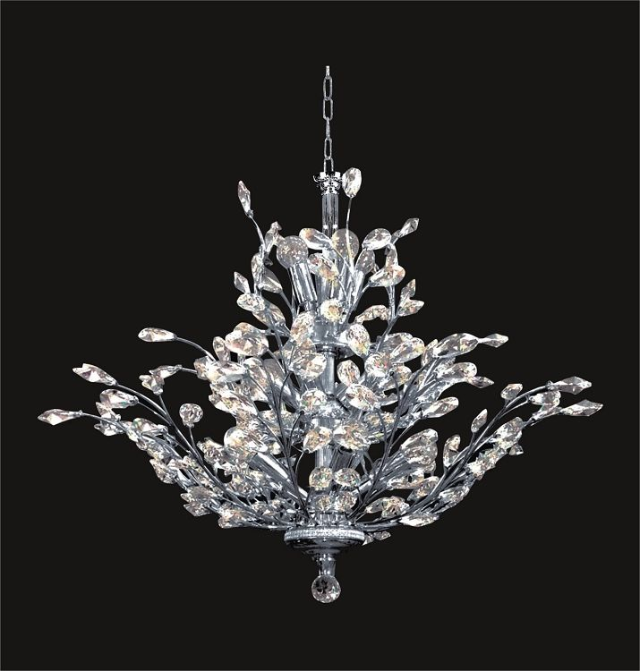 Branch Of Light Design 18 40 Gold Or Chrome Chandelier With Clear European
