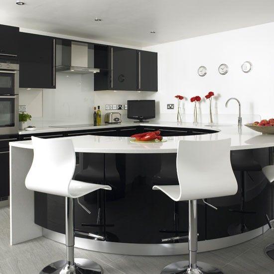 39 best Black Gloss images on Pinterest Contemporary unit - möbel rogg küchen