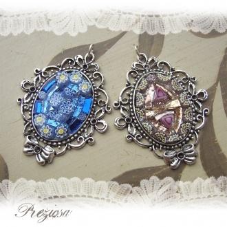 Glass Mosaic Charms