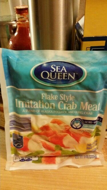 Found gf imitation crab meat!!! I found this at Aldi's food store.
