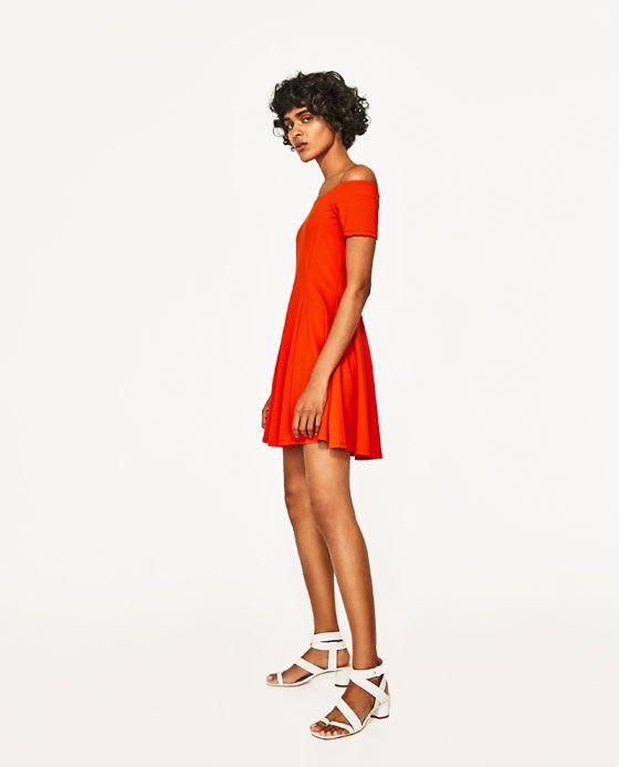Image 5 of BANDEAU DRESS from Zara