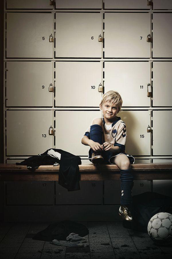Follow your dreams. Young Footballplayer. Skovdal.dk